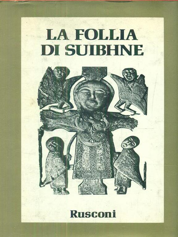 La follia di Suibhne - Anonimo irlandese - copertina
